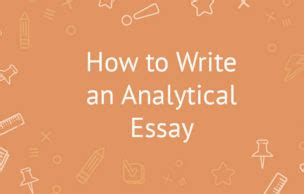 The Fundamentals Of Writing Argumentative and Analytical
